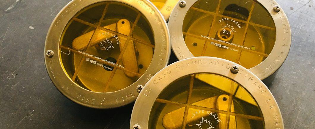 Cassette comando a strappo e carrucole
